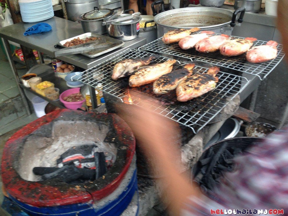 lert Ros restaurant Chiang Mai Fish