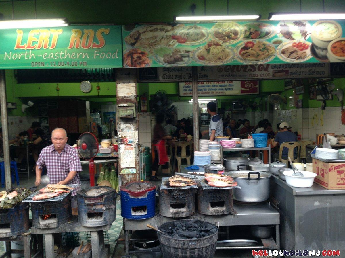 lert Ros restaurant Chiang Mai
