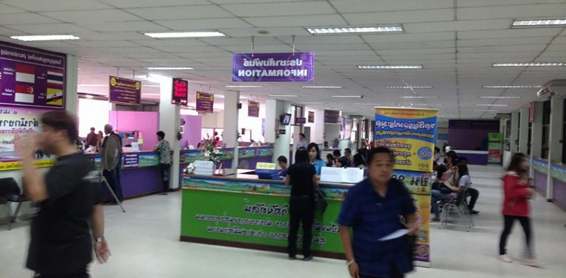 5 year driver's license renewal Thailand