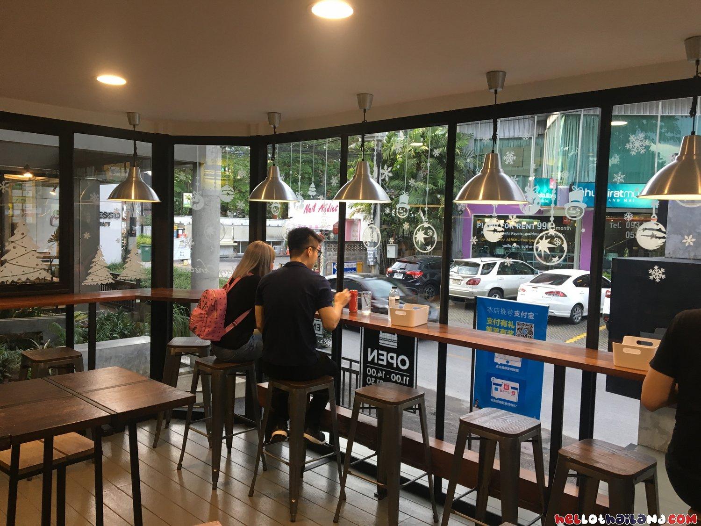 Beast Burger Chiang Mai Inside Restaurant