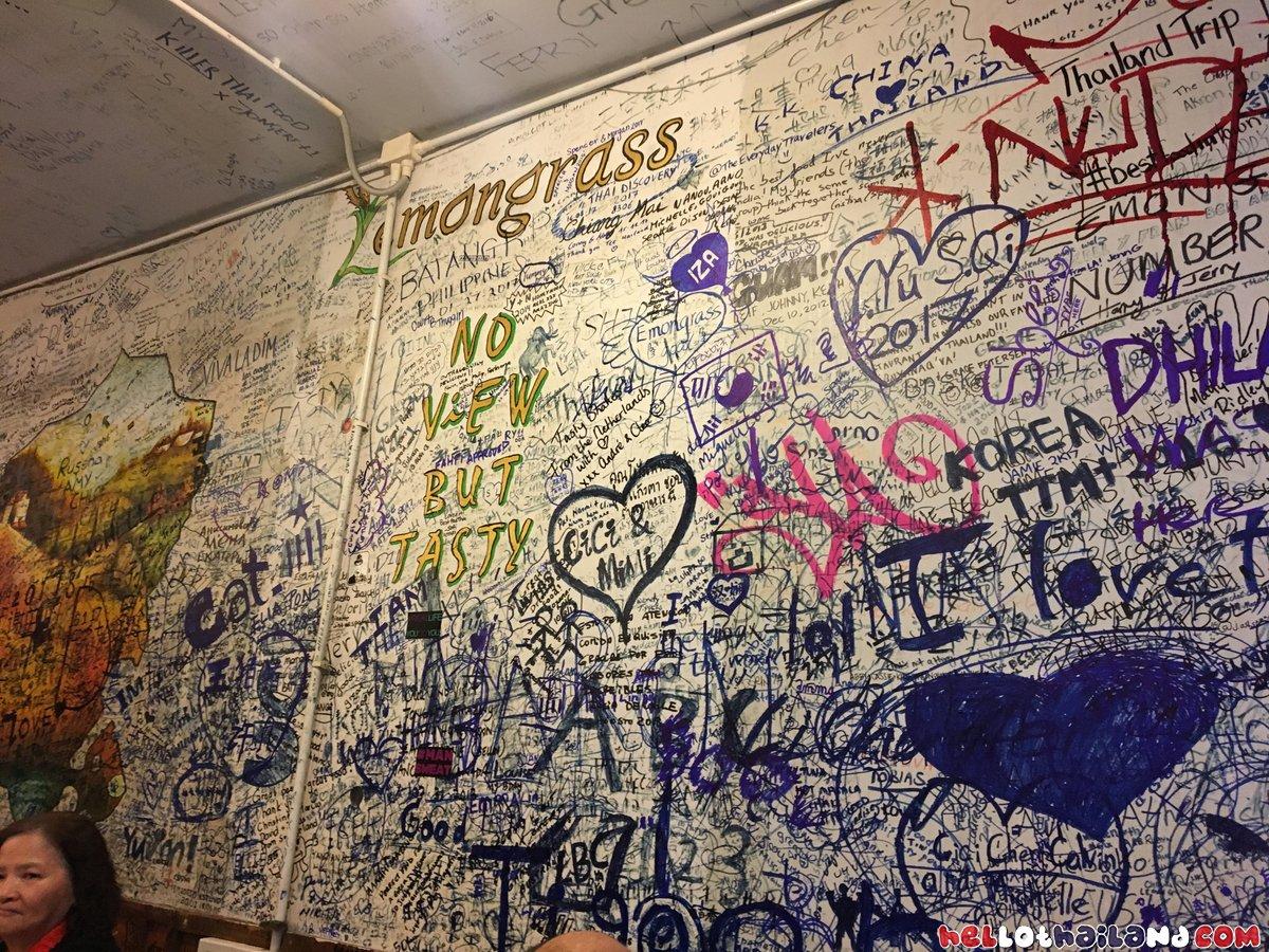Lemongrass Thai Restaurant Traveler Messages Wall