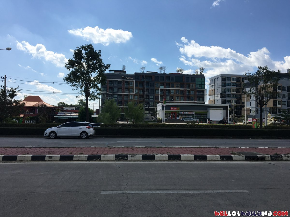 Across the street Promenda Mall