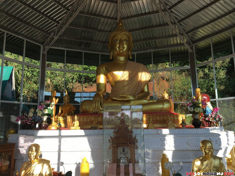 amazing Buddha along the way on Doi Suthep