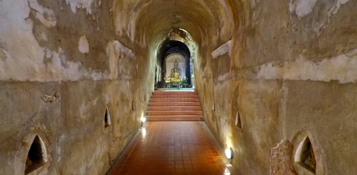 Wat Umong Tunnel Temple Chiang Mai