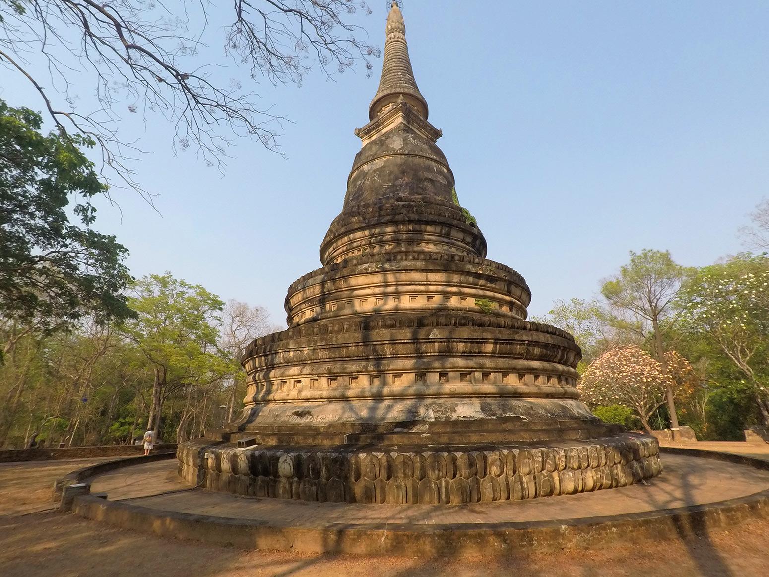 Wat Umong Chedi Chiang Mai